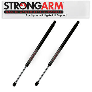 2 pc Strong Arm Liftgate Lift Supports for 2015-2016 Hyundai Santa Fe Body sn