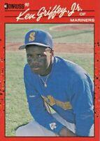 1990 Donruss  Ken Griffey Jr. Seattle Mariners #365 NRMINT / MINT