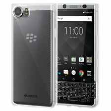 AMZER Pudding TPU Skin Case Back Soft Case For BlackBerry KEYone - Cloudy Clear
