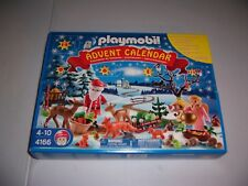 Playmobil 4166 Forest Winter Wonderland Christmas Advent Calendar 81 pcs NEW!