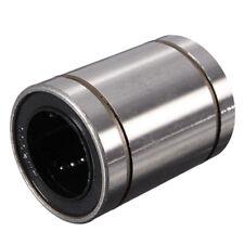 LM20UU 20mm Inside Dia Linear Motion Ball Bush Bearing Bushing Silver R7K3