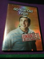 THE 40-YEAR-OLD VIRGIN 2005 DVD NR movie Comedy