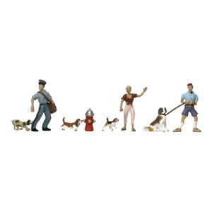 Woodland Scenics A1827 HO/OO Gauge People and Pets