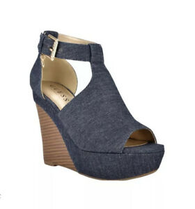 rori Cork Wedges guess shoes