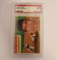 1956 Topps #234 Pete Runnels Washington Nationals PSA 7 NM