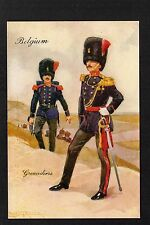 Belgian Printed Collectable Military Postcards