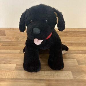 Promise Pets Build A Bear Black Lab Labrador Dog Soft Toy Plush