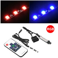 Ultra-bright RGB LED Strip Light + Remote Control For PC Water Cooling CPU Block