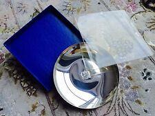 Scarce Engraved Brass Queen Elizabeth II Silver Jubilee 1977 Commemorative Plate