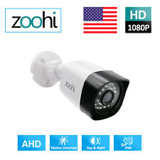 Zoohi Home Security 2.0MP Surveillance Camera 1080N 4in1 IR Night Vision Outdoor