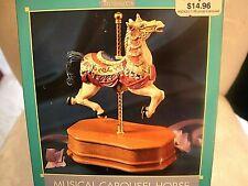 Armored Carousel Horse  Music Box