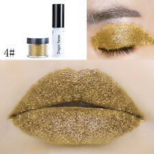 20 Colors Glitter Eyeshadow Lipstick For Party Makeup Cosmetic Eye Shadow*