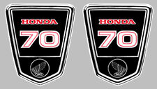DAX 70 AUTOCOLLANTS X 2 STICKERS 9,5cmx8cm MOTO BIKER ENDURO TRAIL (HA130)