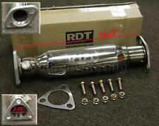 RDT HIGH FLOW TEST PIPE CATALYTIC CONVERTER UPGRADE CAT ACURA INTEGRA 1994-1997