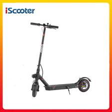 Iscooter E9D Plegable Scooter Eléctrico 8.5 pulgadas 350W 25KM/H con soporte de aplicación