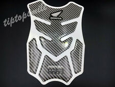 Carbon Fiber Gas Tank Protector Pad Decal For Honda Racing Motorcycle Stickers