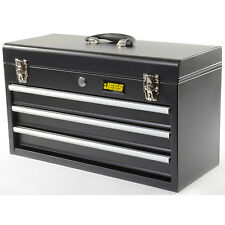 JEGS Performance Products 81400 3 DRAWER TOOL BOX BLK