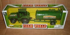 1/32 Plastic Farm Tractor Model - Fertilizer Trailer Tank Pesticide Spreader