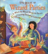 The Book of Wizard Parties, Halloween party DIY hardcover