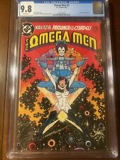 OMEGA MEN #3 6/83 CGC 9.8 WHITE PAGES FIRST LOBO!!  KEY ISSUE!