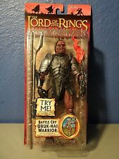 BATTLE CRY URUK HAI WARRIOR LOTR THE TWO TOWERS F/X BRAND NEW UNOPENED toy biz