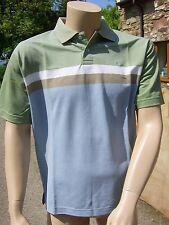 Frank Eden Multi Polo T-Shirt Medium