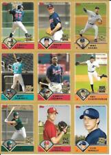 2003 Topps Traded Gold Parallel Insert Set Lot of (25) Different See List & Scan