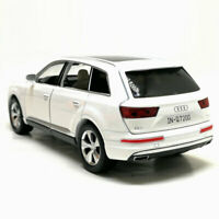 Audi Q7 SUV 1:32 Model Car Metal Diecast Toy Vehicle Kids Colleciton Gift White