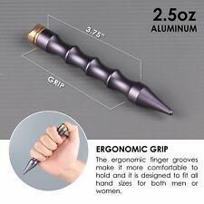 Aluminum KUBOTAN Rattle Strike: Fidget Spinner End Cap, Self Defense Weapon