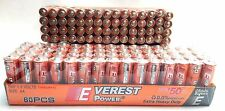 Lot Of 60 AA plus 60 AAA Batteries extra Heavy Duty