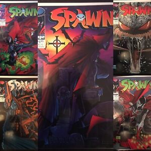 Spawn Mixed 10 Comic Lot VF- NM