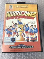 Hurricanes Game for Sega Genesis - Mega Drive - Authentic Cart & Box - RARE GAME