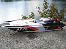 New32` RC  Toy Racing Jet R/C Catamaran PX-16  Ship Boat MosquitoGift for Kids