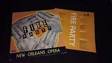 FIRE PARTY - New Orleans Opera - Vinyl LP *Lyrics Insert* DISCHORD 37*