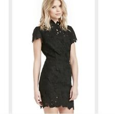 Black Open Back Lace Dress J.O.A. - XS