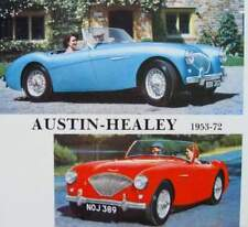 LIVRE/BOOK : AUSTIN HEALEY 1953-72 (100/4,100/6,3000,sprite,mark II,III,IV