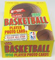 1990-91 Fleer Basketball Card Wax Pack Box NBA Michael Jordan 36 packs