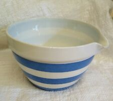 T.G. Green GREEN SHIELD MIXING BOWL WITH POURING SPOUT CORNISHWARE