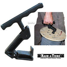 Rack-A-Tiers Pocket Kart Cable Wire Spool Reel Carrying Tool Caddy Holder 56000