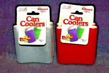 New listing Soffware Collapsible Can Cooler Koozie that folds flat Made in Usa Vintage