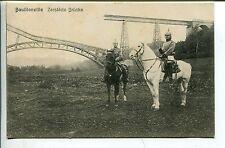 Erster Weltkrieg (1914-18) Militär- & Kriegs-Ansichtskarten mit dem Thema Brücke