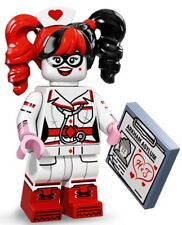 NURSE HARLEY QUINN LEGO THE BATMAN MOVIE MINIFIGURE SERIES 71017 NEW #13 LOW $