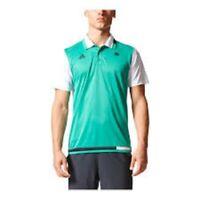 ADIDAS ROLAND GARROS PARIS Polo Shirt Jersey Mens ClimaCool S99164 TENNIS New