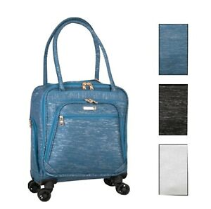 60% OFF! Jenni Chan Bryant 15-Inch Under Seat Rolling Tote, Premier Luggage