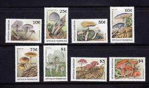 Antigua Barbuda 1990 Fungi SG1158 - 1165 Overprint OVPT MNH Lovely Condition
