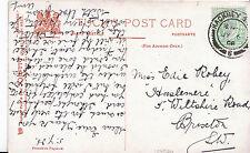 Genealogy Postcard - Family History - Robey - Brixton - London S.W.  U3336