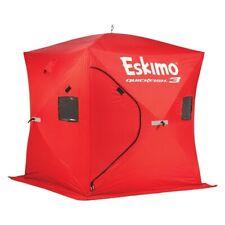 ESKIMO 69143 QUICKFISH 3 PORTABLE ICE SHELTER SHANTY FISHING HOUSE FISH SHACK