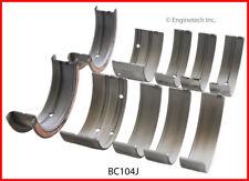 Engine Crankshaft Main Bearing Set ENGINETECH, INC. BC104J010