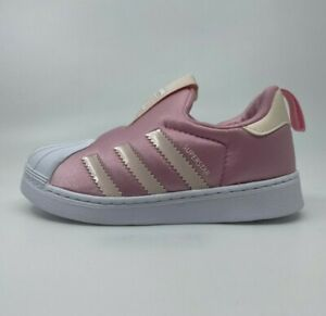 Adidas Girls Trainers Size 3 4 5 6 7 8 9 Infant 👟 GENUINE Superstar 360™ Baby