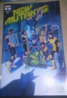 NEW MUTANTS #2 main cover DX MARVEL COMICS  (2019) Hickman Ries